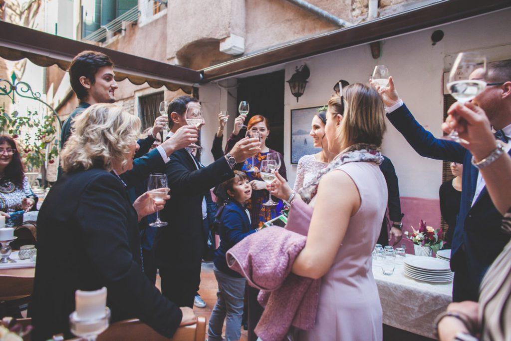 ricevimento di nozze a venezia