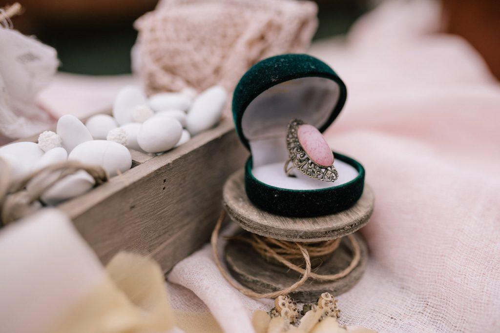 anello di fidanziamento vintage