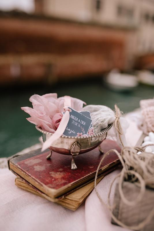 styling dettaglio confettata venezia