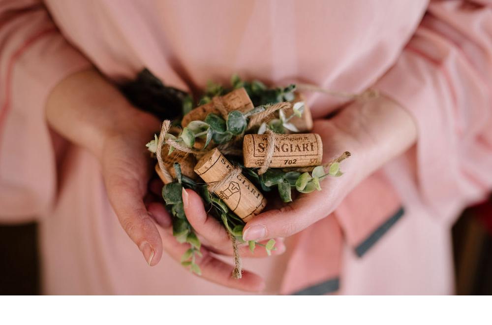 decorazioni matrimonio tema vino