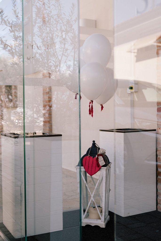 decorazioni san valentino palloncini sengiari