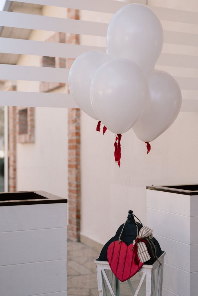 palloncini matrimonio san valentino