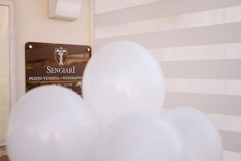 palloncini bianchi matrimonio