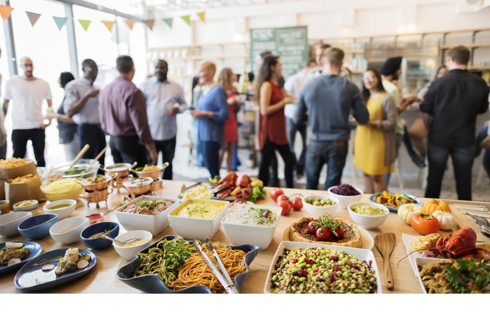 inaugurazione locale buffet benvenuto