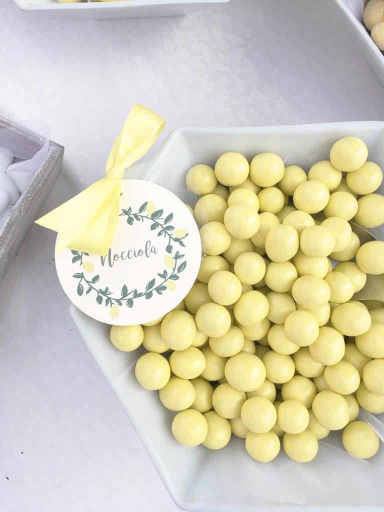 confettata giallo limone