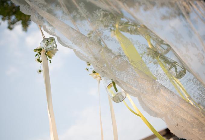 matrimonio rustico vasi fiori appesi