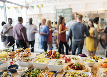buffet inaugurazione negozio