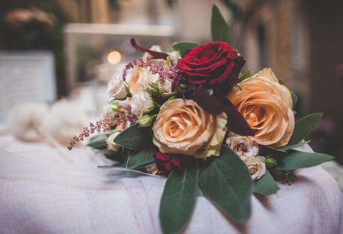 bouquet matrimonio a Venezia