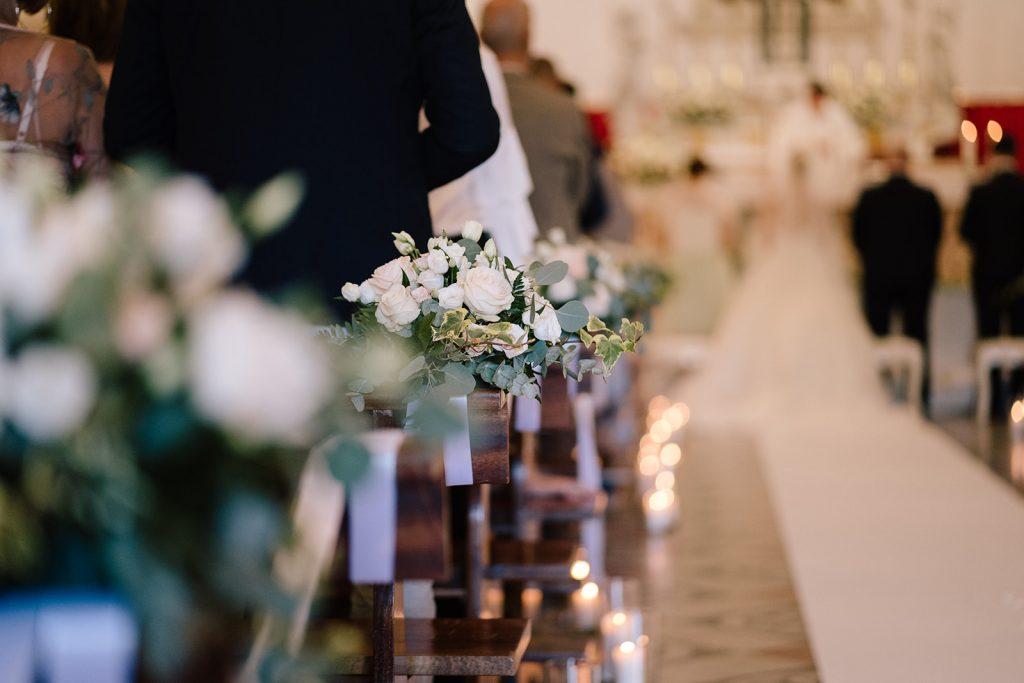 allestimento cerimonia chiesa padova